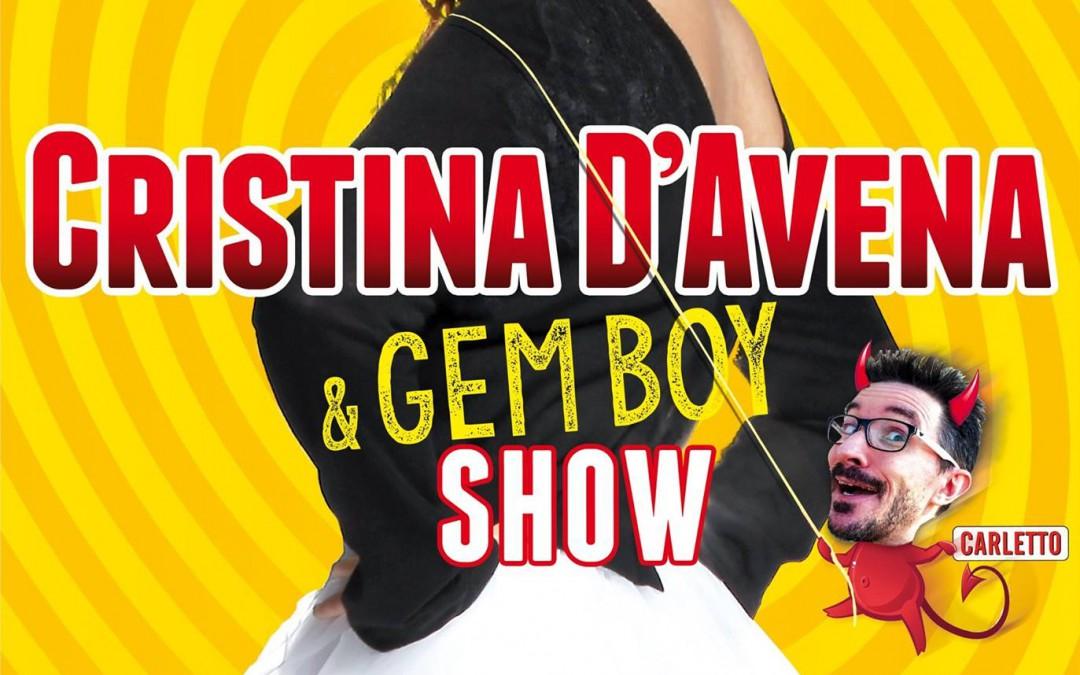 Cristina D'Avena & Gem Boy al Piper Club con il nuovo picture disc