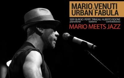 Mario Venuti & Urban Fabula Live il 27 aprile al Quirinetta di Roma