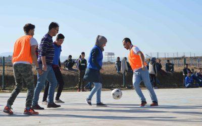Un calcio per la pace. Football Tournament for social cohesion.