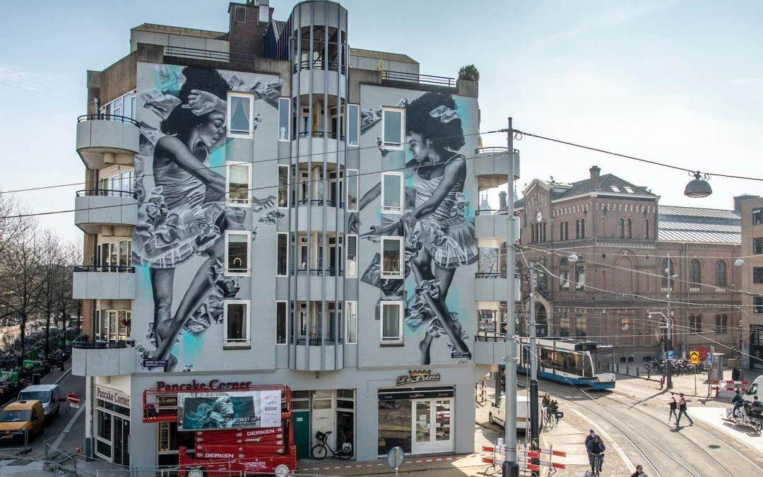 DIVERSITY IN BUREAUCRACY Dall'Italia, l'esempio della street art mangia-smog arriva nei Paesi Bassi, YOURBAN2030