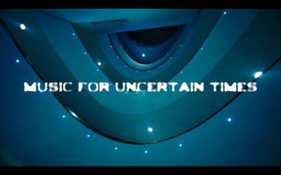 MUSIC FOR UNCERTAIN TIMES, UN PROGETTO DEL MINISTERO DEGLI AFFARI